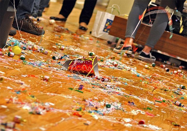 Curățenie după evenimente (petreceri) - mai simplu apelând la firma de curățenie!